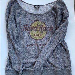 🌵Hard Rock Cafe Vintage cotton sweatshirt
